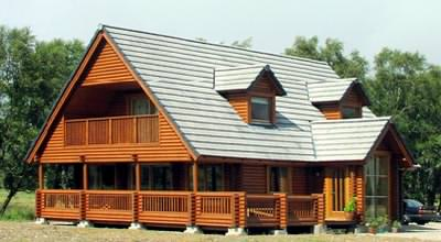 Log cabin designs in the UK