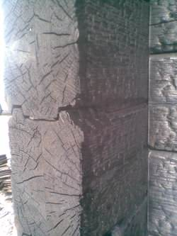 Log cabin fire treatment can stop this happening!