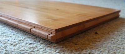 Engineered timber boards can be good for log cabin flooring