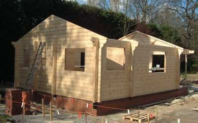 Log cabin foundation types which is best for you for Foundation options for cabins