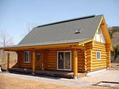 A potentail log cabin granny annexe in North America