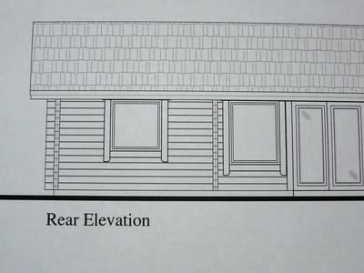 Log cabin permit drawings