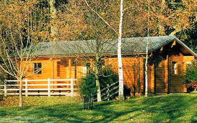 Log cabin rentals can be fun anytime of year