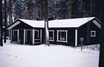 The Scandinavian weather is snowy, hence the use of white trim