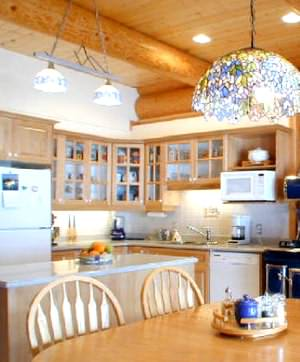 Make sure you protect log cabin wet areas like your kitchen