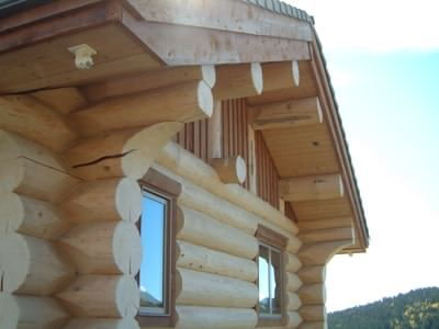 Log cabins Canada - Solid log cabins look great!
