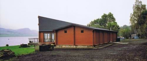 Log cabins Scotland - some great locations close to Loch's!