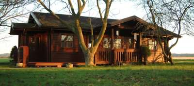 Your log cabin must be protected from the UK weather