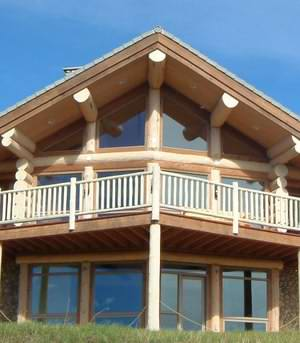 Log Cabin windows can be used to dramatic effect