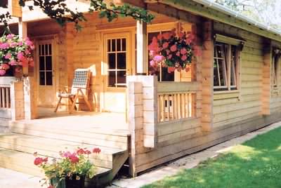Garden cabins - a great place to enjoy your garden