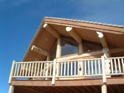 All the details contribute to making luxury log cabin homes special!