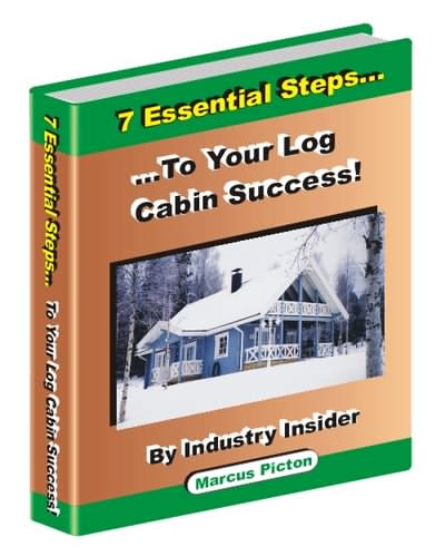 A log cabin ebook written from real practical experience!