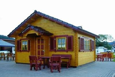 A log cabin games room can provide hours of fun