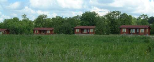 Log cabin rentals in the English countryside