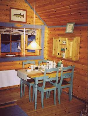 The interior of your log cabin rentals can be very important in the winter